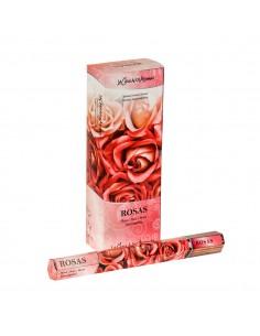 20 encens x 6 arôme ROSES -...
