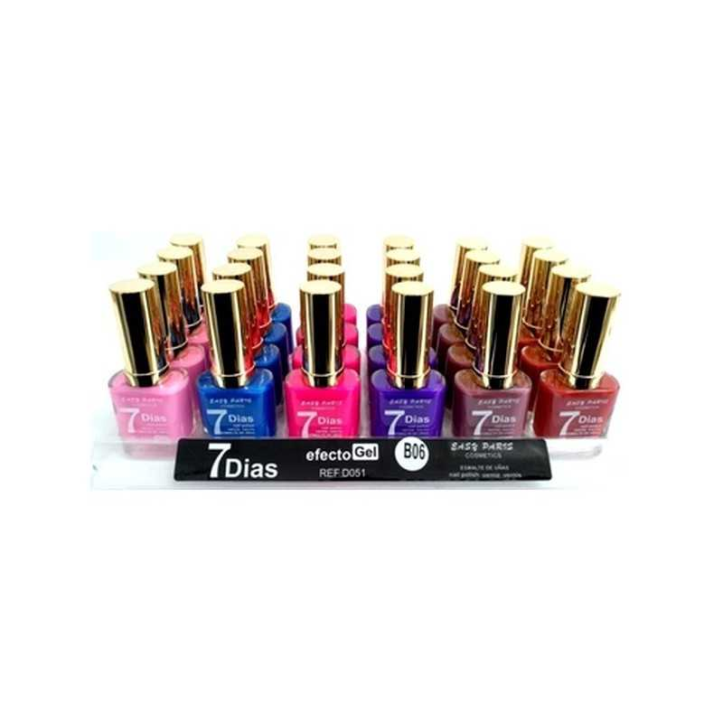 Vernis leticia well EFFET GEL 6 différents a prix grossiste