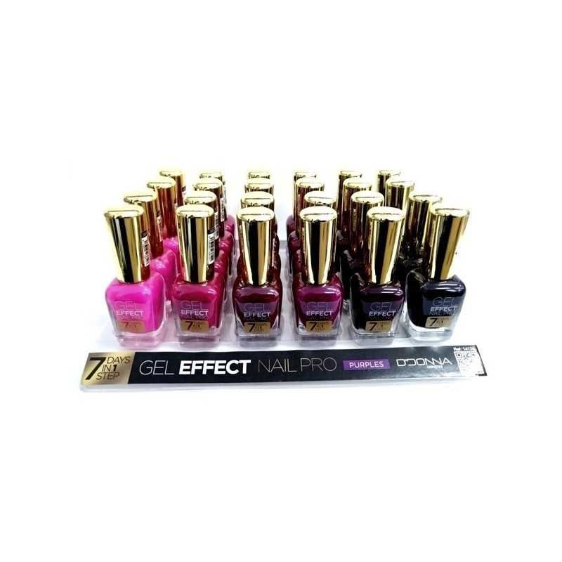 Grossiste maquillage - VERNIS A ONGLES NAILPRO EFFET GEL 6