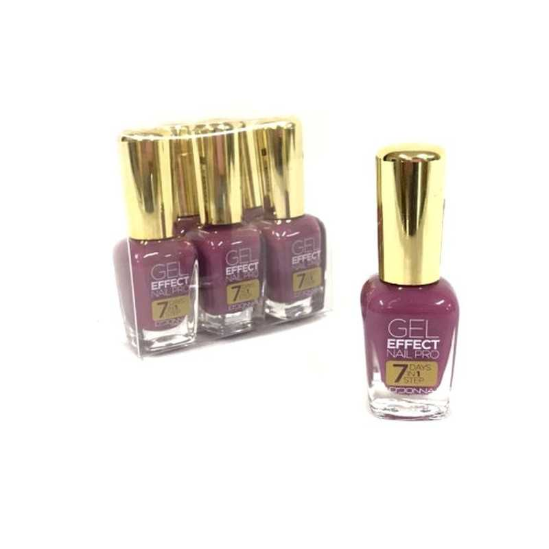 Vernis a ongles EFFET GEL 6 COULEURS - grossiste maquillage