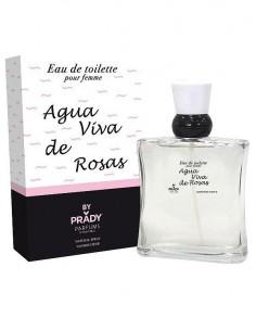 grossiste prady parfum - AGUA VIVA DE ROSAS POUR ELLE DE PRADY - EDT 100 ML (Parfum Générique prady) - PARFUM PRADY -. PRADY PA