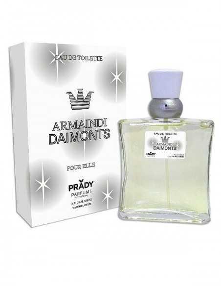 grossiste prady parfum - ARMAINDI DIAMONTS POUR ELLE DE PRADY - EDT 100 ML (Parfum Générique prady) - PARFUM PRADY -. PRADY PAR