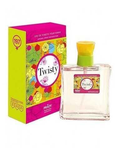 grossiste prady parfum - TWISTY POUR ELLE DE PRADY - EAU DE TOILETTE 100 ML - PARFUM PRADY -. PRADY PARFUMS