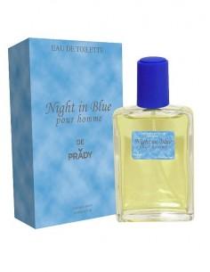 grossiste prady parfum - NIGHT IN BLUE DE PRADY POUR HOMME - EDT 100 ML (Parfum Générique prady) - POUR HOMME -. PRADY PARFUMS